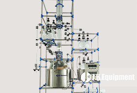 Whole Set Glass Distillation Unit