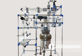 Glass Distillation Unit over GLR