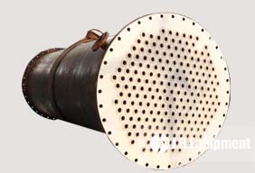 PTFE Lined Shell & Tube Heat Exchanger